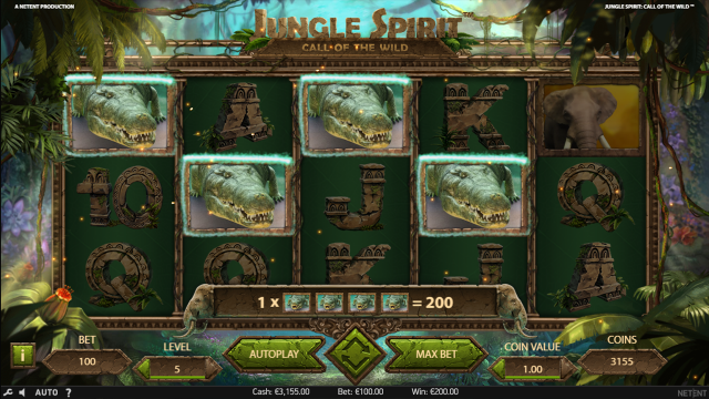 Бонусная игра Jungle Spirit: Call Of The Wild 7