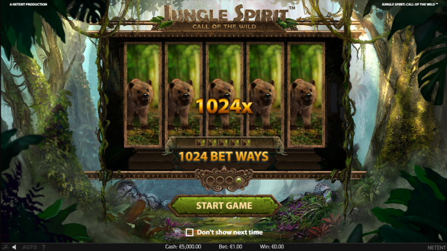 Бонусная игра Jungle Spirit: Call Of The Wild 1
